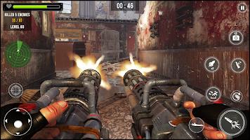 Screenshot 1: 機槍模擬器