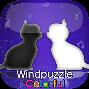 Icon: 風的謎題Colorful  黑貓白貓夢見的世界