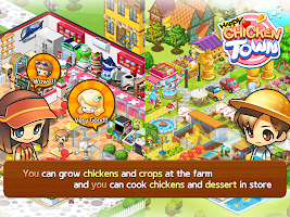 Screenshot 2: Happy Chicken Town
