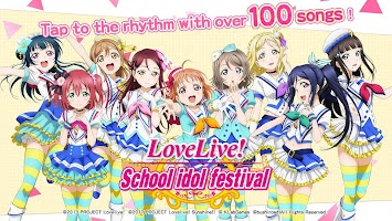 Screenshot 1: Love Live! School Idol Festival (English)