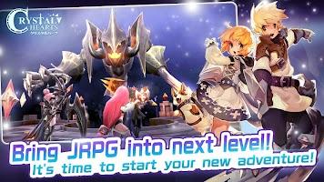 Screenshot 1: Crystal Hearts | Japanese/English