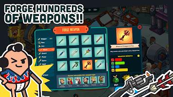 Screenshot 1: Holy Potatoes! A Weapon Shop?!