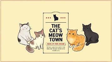 Screenshot 1: The cat's meow town
