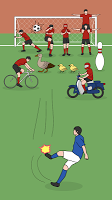 Screenshot 1: Crazy Freekick
