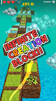 Screenshot 2: INFINITE BLOCK: Difficult run games