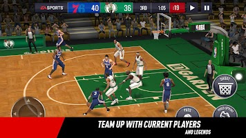 Screenshot 2: NBA LIVE Mobile