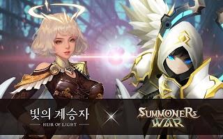 Screenshot 2: 빛의 계승자 (Heir of Light)