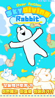 Screenshot 1: Overaction Sky diving Rabbit