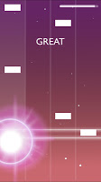 Screenshot 2: MELOBEAT - Awesome Piano & MP3 Rhythm Game