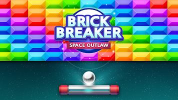 Screenshot 1: Brick Breaker : Space Outlaw