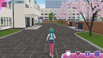 Screenshot 1: Shoujo City 3D