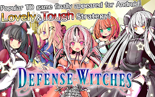 Screenshot 1: 魔女塔防/Defense Witches