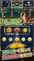 Screenshot 1: 中二病騎士 - ドットRPG×パチスロ×放置ゲーム