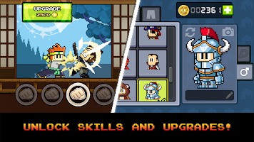 Screenshot 1: Dan the Man: Action Platformer