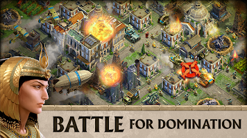 Screenshot 1: DomiNations | English