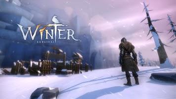 Screenshot 1: Winter Survival:after the last zombie war