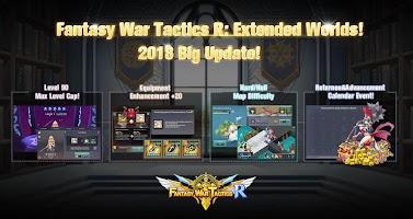 Screenshot 1: Fantasy War Tactics R