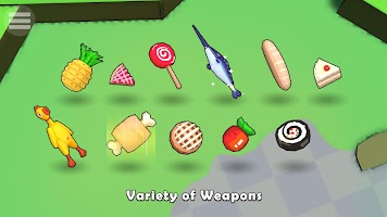 Screenshot 4: Food.io - io games online & offline battle royale