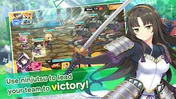 Screenshot 4: Moe! Ninja Girls RPG: SHINOBI