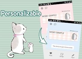 Screenshot 3: 動物生活 記事本小工具