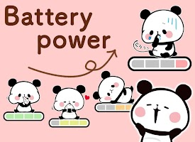 Screenshot 2: 麻糬熊貓 電池小工具