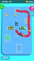 Screenshot 1: Draw and Park - Car Puzzle Game