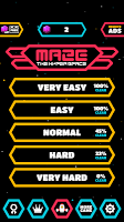 Screenshot 1: MAZE : The Hyper Space