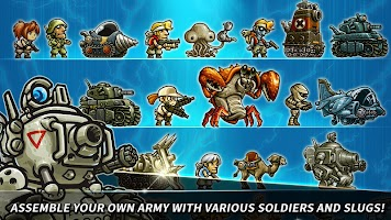 Screenshot 2: Metal Slug Infinity : Idle Game | Global