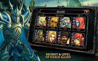 Screenshot 3: Dawn of the Dragons: Ascension - Turn based RPG