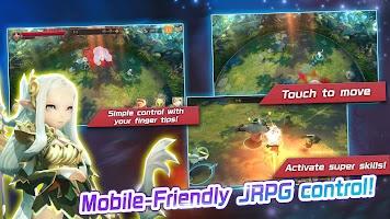 Screenshot 4: Crystal Hearts | Japanese/English