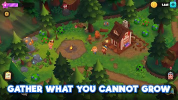 Screenshot 3: WeFarm: Build a Town & Explore