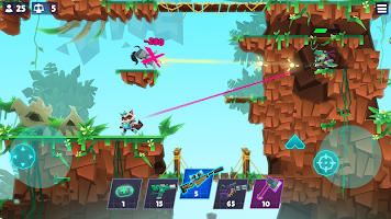 Screenshot 3: Bullet League - 2D Battle Royale