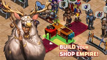Screenshot 1: Shop Heroes: RPG Tycoon