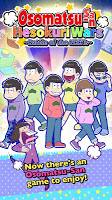 Screenshot 1: Osomatsu-san Hesokuri Wars~Battle of the NEETs~
