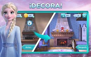 Screenshot 3: Aventuras de Disney Frozen