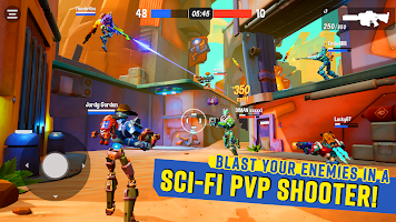 Screenshot 1: Blast Bots - Blast your enemies in PvP shooter!