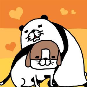 Icon: Panda and Dog: Always Dog Cute