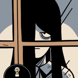 Icon: 窗裡的女孩