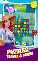 Screenshot 1: Gummy Drop! – Free Match 3 Puzzle Game