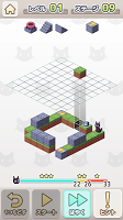 Screenshot 1: トコトコ箱庭ネコパズル シュレディンガーの箱庭