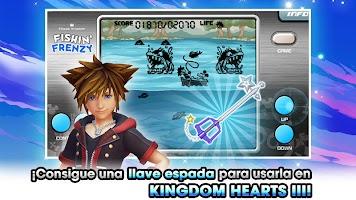Screenshot 1: KINGDOM HEARTS Union χ[Cross]   Inglés