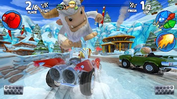 Screenshot 3: Beach Buggy Racing 2