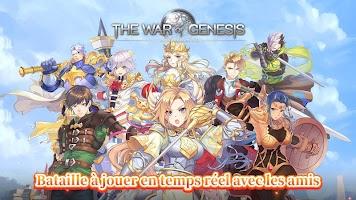 Screenshot 1: The War of Genesis: Battle of Antaria