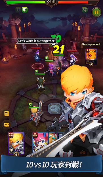 Screenshot 3: 你好英雄 史诗般的战斗