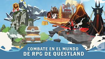 Screenshot 2: Questland: RPG de acción por turnos