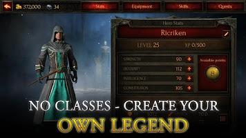 Screenshot 3: Arcane Quest Legends - Offline RPG