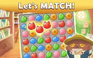Screenshot 1: Cats Atelier -  A Meow Match 3 Game