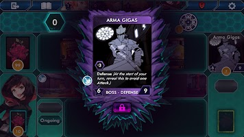Screenshot 1: RWBY Deckbuilding Game