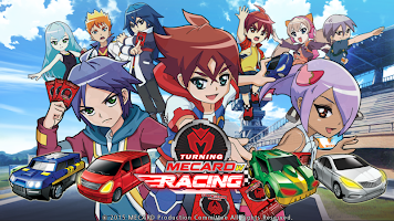 Screenshot 1: Turning Mecard Racing