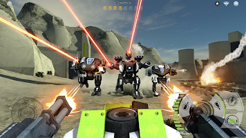 Screenshot 2: Mech Battle - Robots War Game